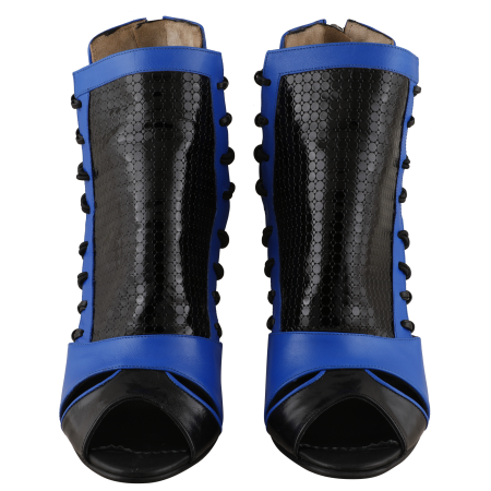Botine Playa Kinetic Blue1