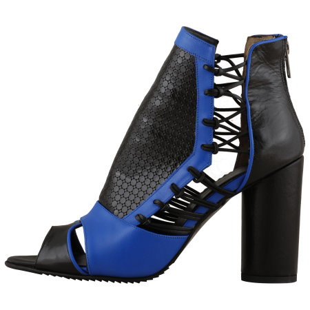 Botine Playa Kinetic Blue4