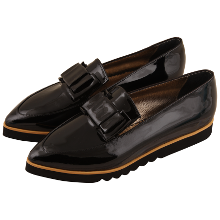 Mocasini Pulse II Flashy Black2
