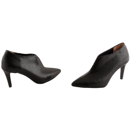 Botine Sleek Southern Black1