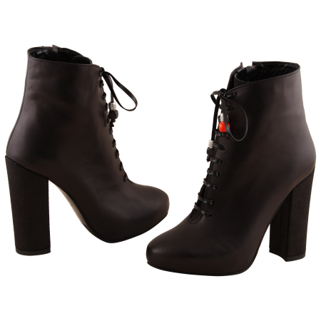 Botine Statement Black Carioca3