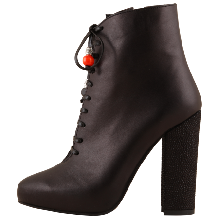 Botine Statement Black Carioca0