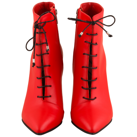 Botine Statement Red Lamp1