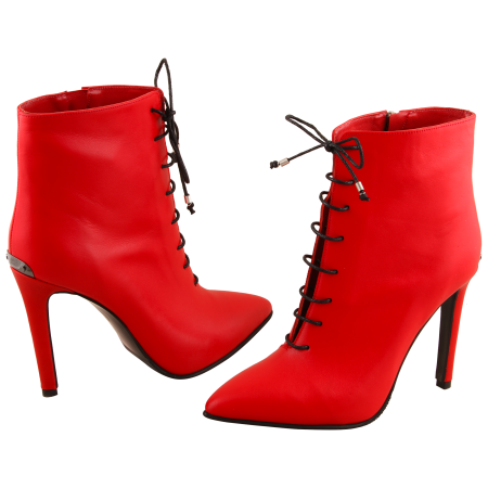 Botine Statement Red Lamp3