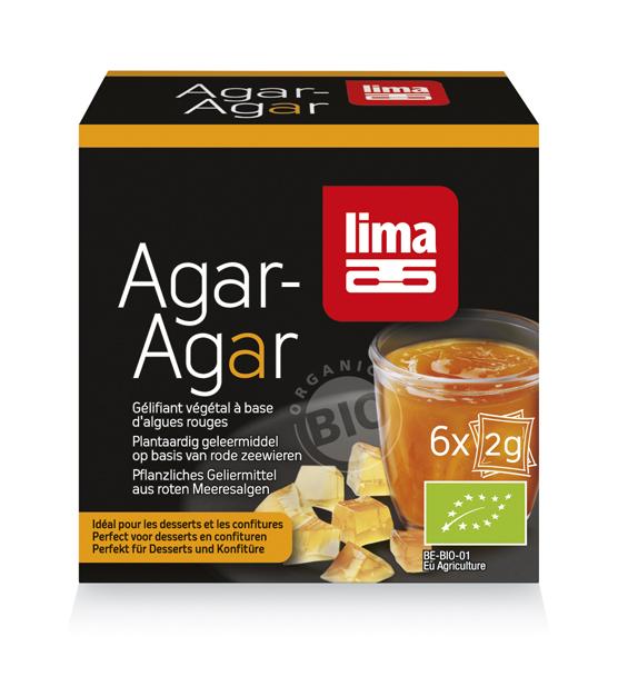 Agar Agar Pudra Eco 6X2G Lima [0]