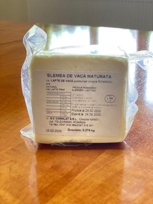 Telemea maturată de vacă [0]