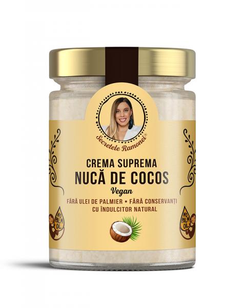 Cremă supremă vegană – nucă de cocos 350 gr [0]