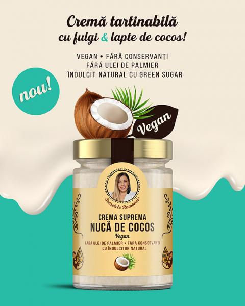 Cremă supremă vegană – nucă de cocos 350 gr [1]
