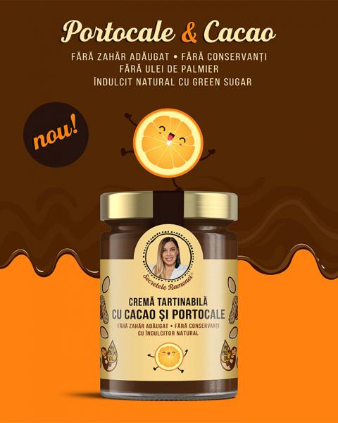 Cremă tartinabilă cu cacao și portocale 350 gr [1]