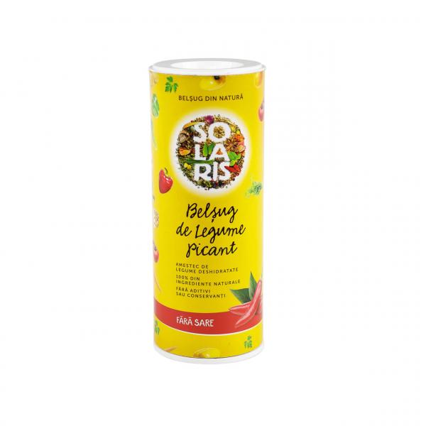 Belșug de legume picant 125g tub Solaris [0]