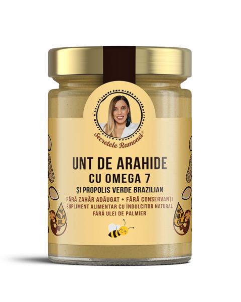 Unt de arahide cu omega 7 și propolis verde brazilian 350 gr [0]