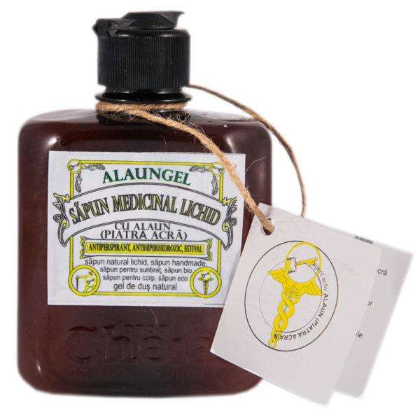 Alaungel săpun medicinal lichid cu alaun ( gel de duș natural) [0]