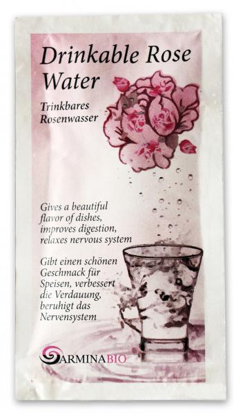 Apa de trandafir pentru baut in pliculete bio 10ml [0]