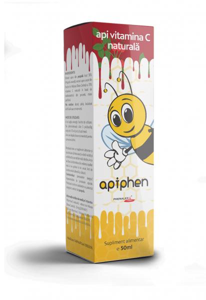 Apiphen api vitamina C naturala 50ml [0]