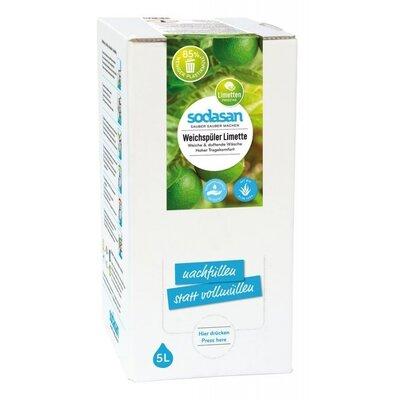 Balsam bio pentru rufe cu Lime 5L Sodasan [0]