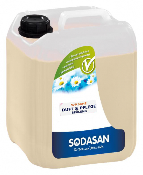 Balsam si parfumant bio pt. rufe 5L SODASAN [0]