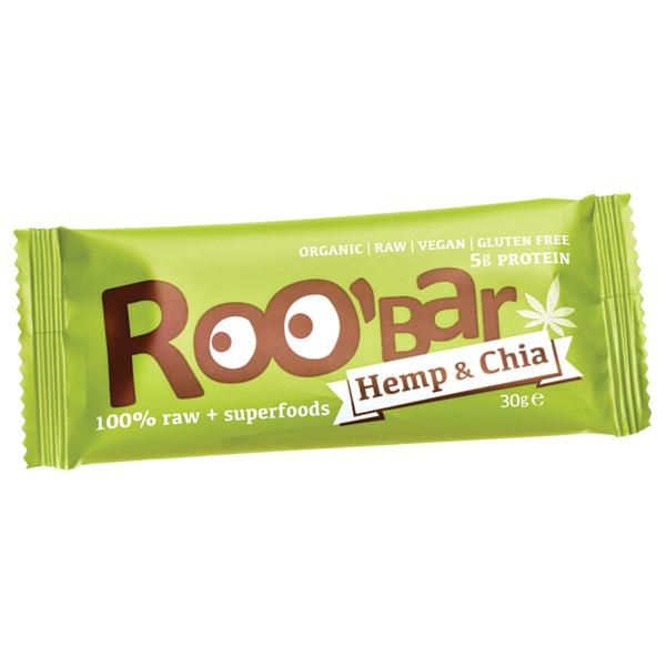 Baton Roobar cu canepa raw eco 30g [0]