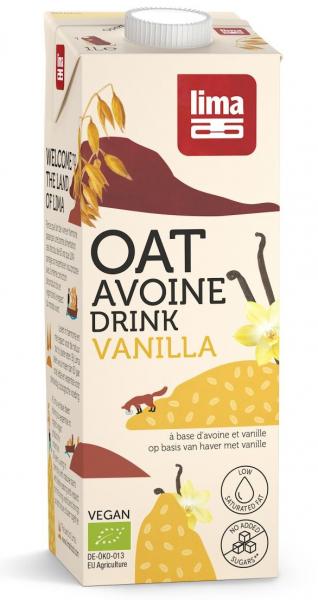 Bautura vegetala de ovaz cu vanilie eco 1L Lima [0]