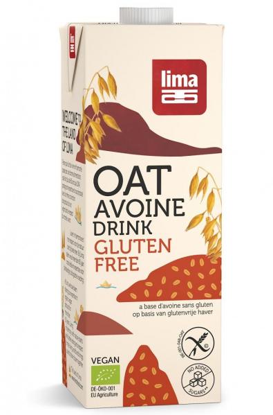 Bautura vegetala de ovaz fara gluten eco 1L Lima [0]