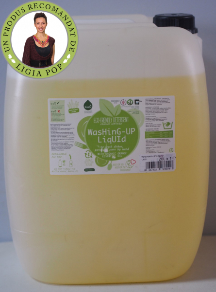Biolu detergent ecologic vrac pentru spalat vase 20L [0]