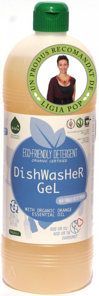 Biolu gel ecologic pentru masina de spalat vase 1L [0]