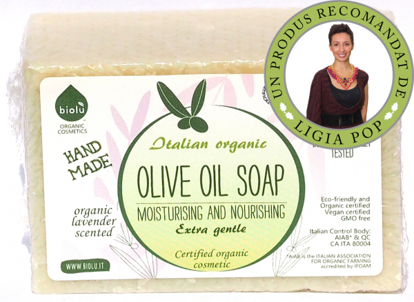 Biolu sapun ecologic cu ulei de masline 140g [0]