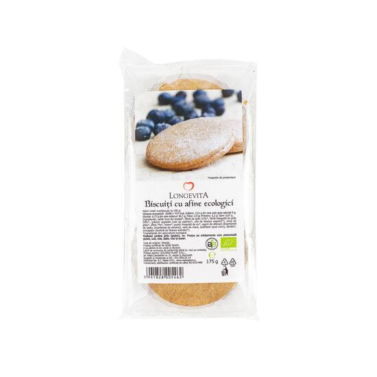 Biscuiți cu cremă de afine eco 175 gr Longevita [0]