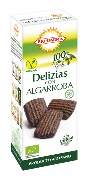 Biscuiti din ovaz cu carob bio 125g Bio Darma [0]