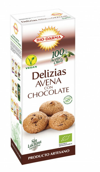 Biscuiti din ovaz cu ciocolata bio 125g Bio Darma [0]