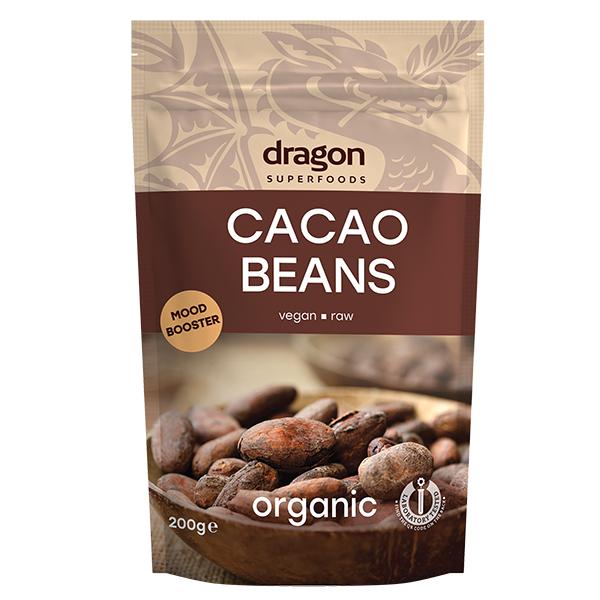 Boabe de cacao intregi eco 200g [0]