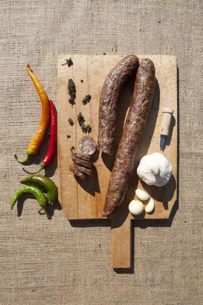 Cârnați cu miroase și usturoi [2]