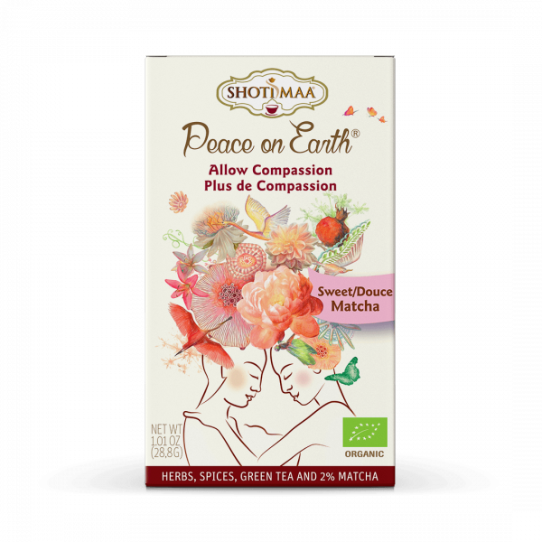 Ceai Shotimaa Peace on Earth - Allow Compassion bio 16dz [0]