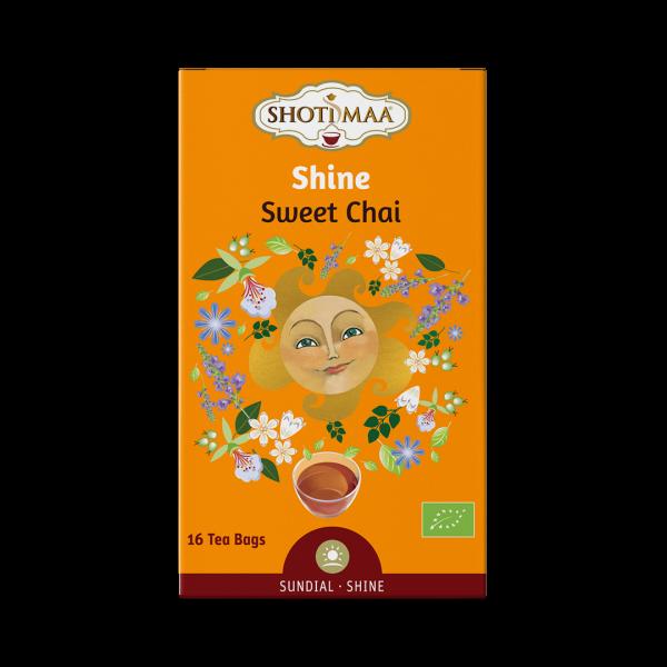 Ceai Shotimaa Sundial - Shine - sweet chai bio 16dz [0]