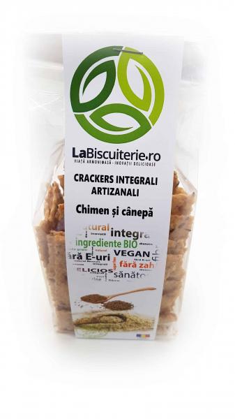 Crackers proteici cu chimen și cânepă [0]