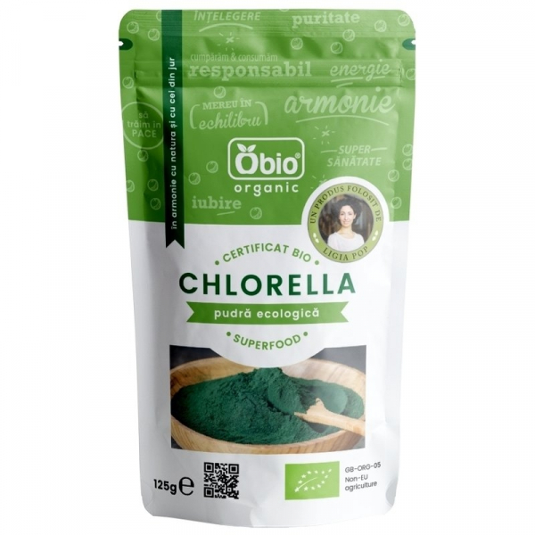 Chlorella pulbere eco 125g [0]