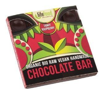 Ciocolata cu zmeura raw eco 35g [0]