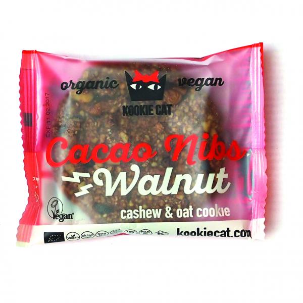 Cookie cu nuci si cacao fara gluten eco 50g [0]