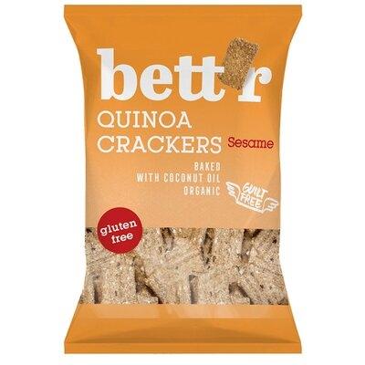Crackers cu quinoa si susan fara gluten eco 100g Bettr [0]