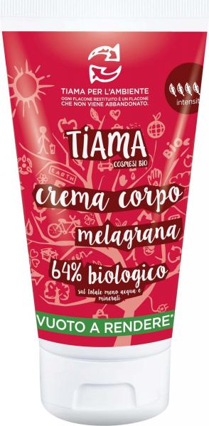 Crema de corp cu rodie bio 150ml Tiama [0]