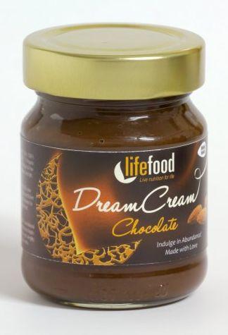 Crema raw Dream Cream cu ciocolata eco 150g [0]