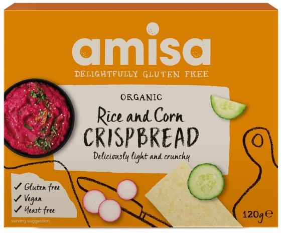 Crispbread (painici) din orez si porumb fara gluten bio 120g [0]