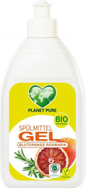 Detergent GEL bio pentru vase - portocale rosii - 500ml Planet Pure [0]