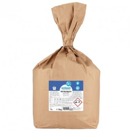Detergent praf bio pentru spalari grele 5kg Sodasan [0]