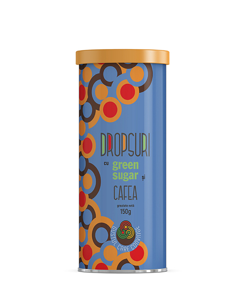 Dropsuri Green Sugar cu cafea 150 gr [0]