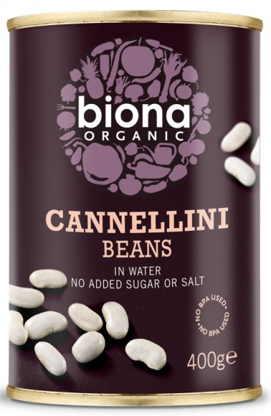 Fasole alba Cannellini bio 400g Biona [0]