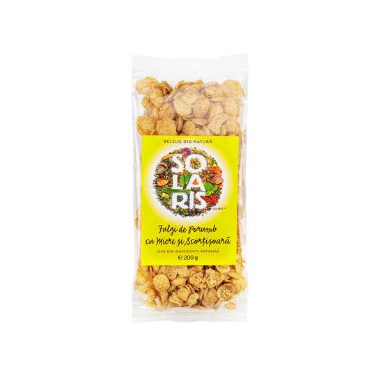 Fulgi de porumb cu miere și scorțișoară 200 gr [0]