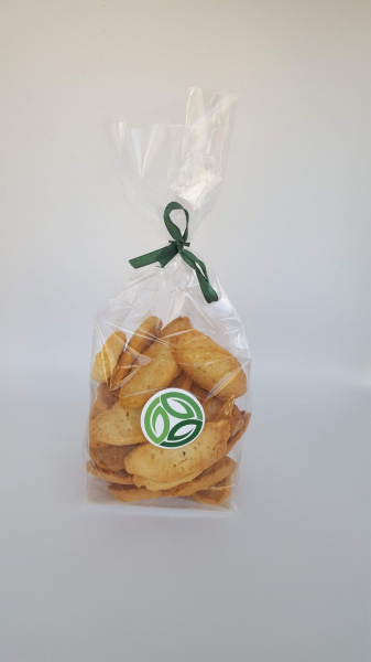 Fursecuri fără zahăr cu unt și cocos 150 gr [0]