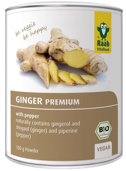 Ghimbir pudra premium bio 100g RAAB [0]