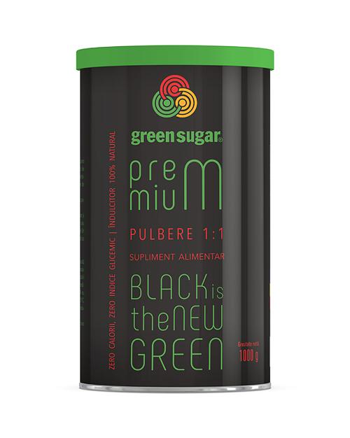 Green Sugar Premium 1:1 pulbere 1000 gr [0]