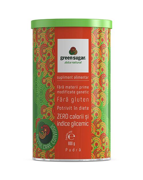 Green Sugar pudră 800 gr [0]